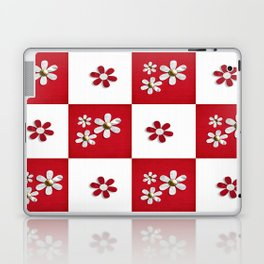 red and white beauty  Laptop & iPad Skin