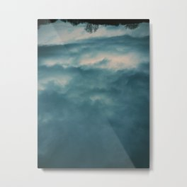 I was looking for heaven Metal Print