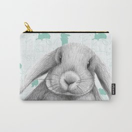 Lop eared bunny rabbit Carry-All Pouch