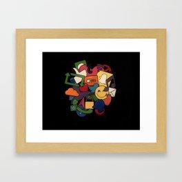 Social Media Networks Framed Art Print