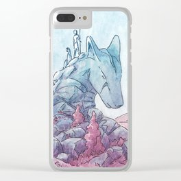 The First Foxdragon Clear iPhone Case