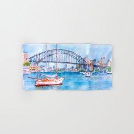 Beautiful Sydney Harbour Hand & Bath Towel