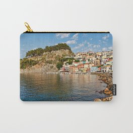 The colorful houses of Parga, Greece Carry-All Pouch