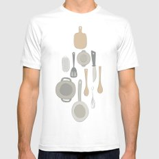 kitchen Mens Fitted Tee White MEDIUM