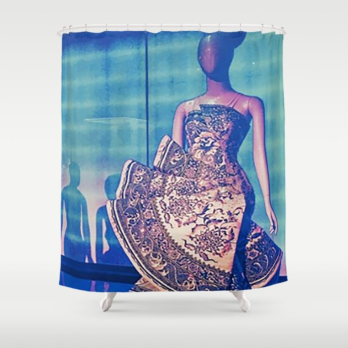 China Through The Looking Glass 1 Shower Curtain