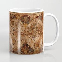 Vintage Olde Worlde Map 1620 Coffee Mug
