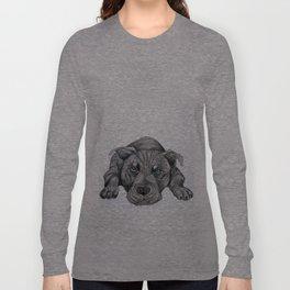 Deed, not breed... Long Sleeve T-shirt
