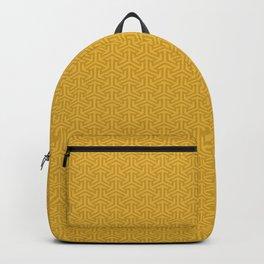 24 Karat Gold Tres Petit Geometric Pattern Backpack
