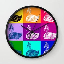 Swan Princess Wall Clock