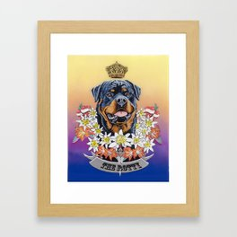 The Rotty Framed Art Print
