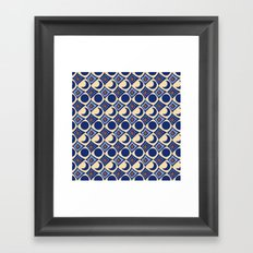 Blue Moon Diamonds Framed Art Print