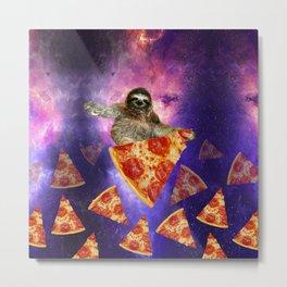 sloth galaxy Metal Print