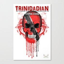 To The Core Collection: Trinidad & Tobago Canvas Print
