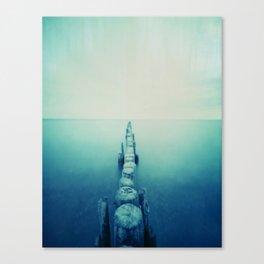 pinhole-ins 124, sea Canvas Print