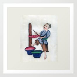 Pith Painting Towel Dry Art Print