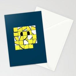 Acid Smiley Shuffle Puzzle Stationery Cards