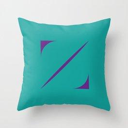 Z like Z Throw Pillow