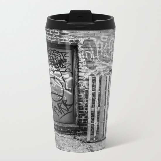 Exit to the Streets Metal Travel Mug