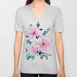 Floral Daydream Unisex V-Neck