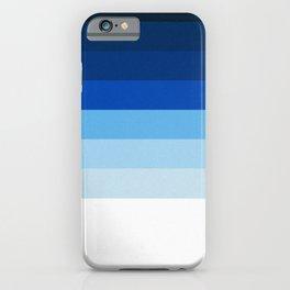 Blue Lines iPhone Case