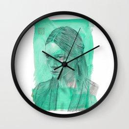 Phthalo Wall Clock