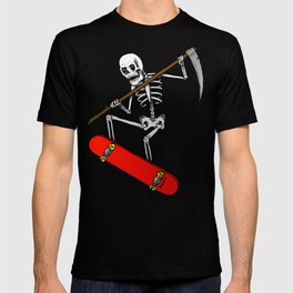 Black skate T-shirt