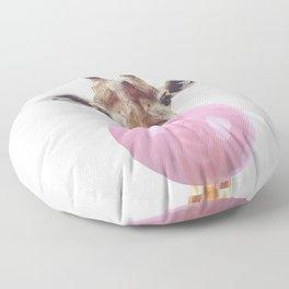 Bubble Gum - Giraffe Floor Pillow