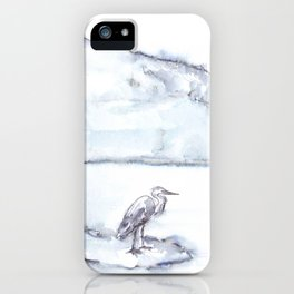 Heron and the Hudson iPhone Case