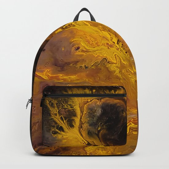 The Hunger Game, fluid acrylic Backpack