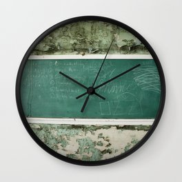School Is Out Wall Clock