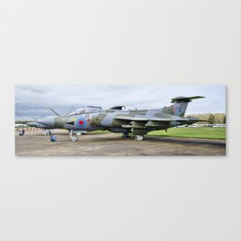 Buccaneer aircraft panoramic Canvas Print