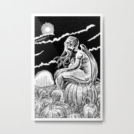It's the Great Cthulhu! Metal Print