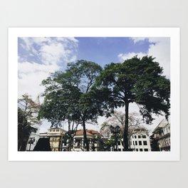 Casco Viejo, Panama Art Print