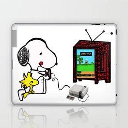 Game on Snoopy Laptop & iPad Skin