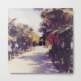 Palm Trees In Spain I Metal Print
