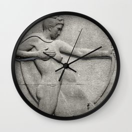 Diana: Huntress Wall Clock