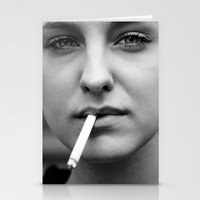 smoking Stationery Cards featuring smoking by kuzmafoto