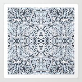 Decorative Lace Art Print