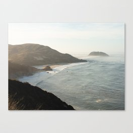 Sunrise over Big Sur Canvas Print