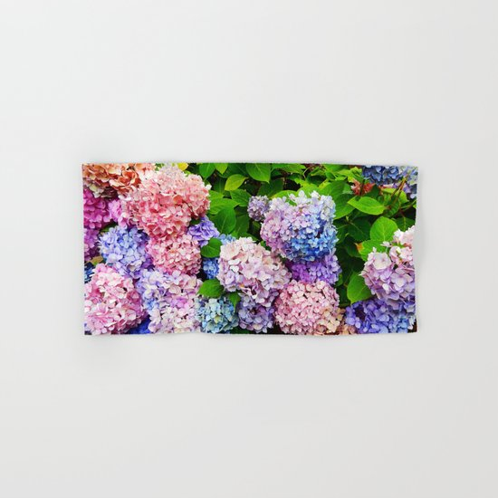 Rainbow of Flowers Hand & Bath Towel