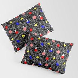 geometric bunny - 80s 90s inspired pattern - memphis milano Pillow Sham