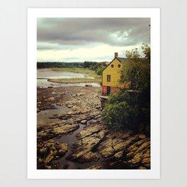 Squamscott River  Art Print
