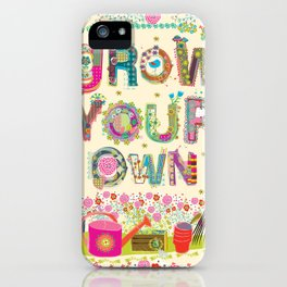 Grow Your Own iPhone Case