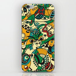 Mouse - 12 ANIMAL SIGNS iPhone Skin