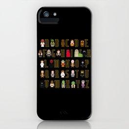 St_ar Wars Alphabet 3 iPhone Case