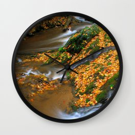 Meeting of the Creeks Wall Clock