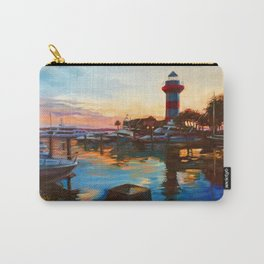 Harbour Town Lighthouse Evening, Hilton Head Island Carry-All Pouch