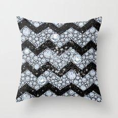 CHEVRON - Diamonds and Stars Throw Pillow