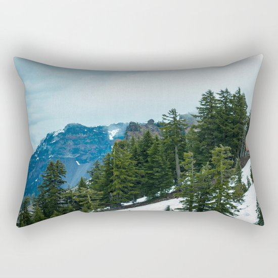 Crater lake-OR Rectangular Pillow