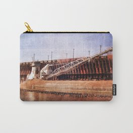 Vintage Great Lakes Freighter Carry-All Pouch